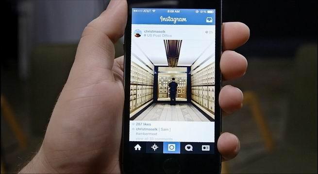 Contoh iklan di akun instagram bisnis