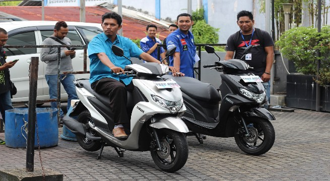 FreeGo, Motor Matic Terbaru Yamaha Resmi Diluncurkan
