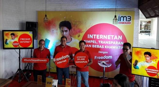 Solusi Kebutuhan Internet Simple dan Bebas Khawatir, IM3 Ooredoo Hadirkan Paket  Freedom Internet